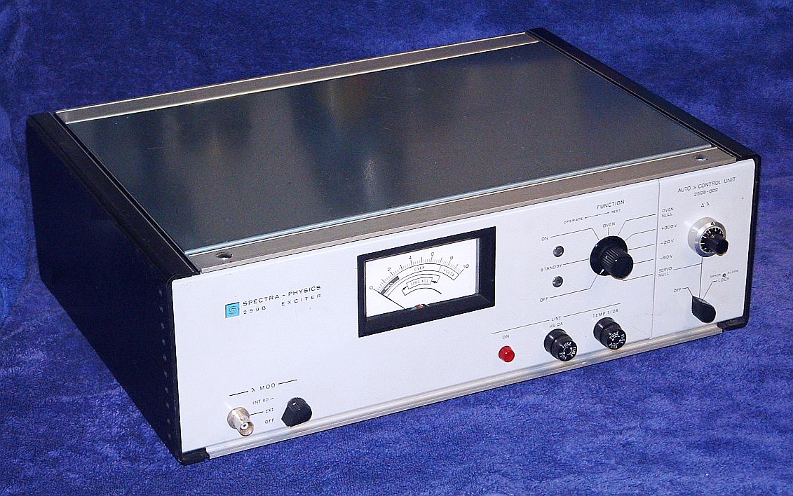 Sams Laser Faq Commercial Hene Lasers 110mm Wire Lever Microswitch Tend Spectra Physics Model 259b Exciter Overall View